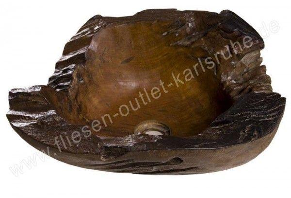 Waschbecken / Schüssel TH-010-MAD Teak Holz
