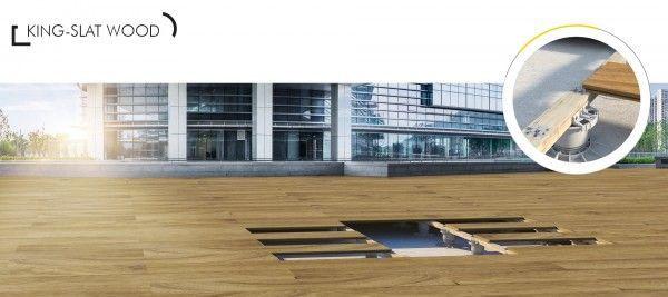 DPS King Krone Clip für Holzböden