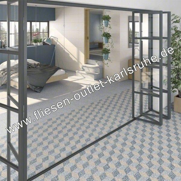 Vives Feinsteinzeug 30x30 cm Farnese Amalfi Cemento