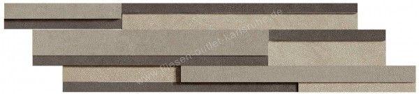 Floorgres Industrial Modulo Listello Sfalsato 15x60 cm Mix Sage / Plomb / Steel