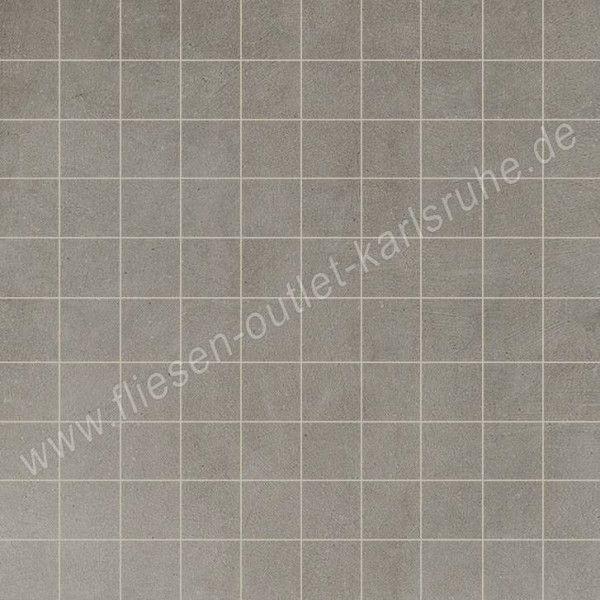 Floorgres Industrial Mosaico Steel 3x3 cm naturale
