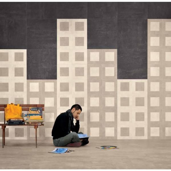 Emil On Square Dekor-Set 2-tlg. 30x30 cm Avorio/Sabbia