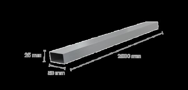 DPS King Rail Alu Traverse 50x25 mm Länge 2000 mm