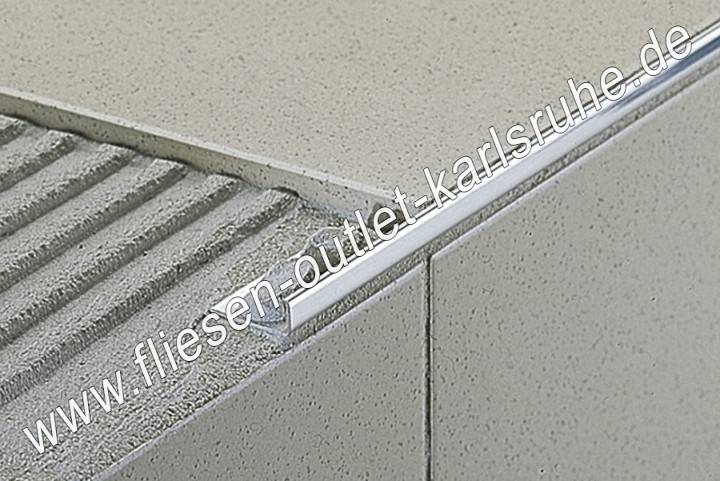 Fliesen profil e 80 proangle 8 mm stab 270 cm fliesen outlet - Fliesen outlet ...