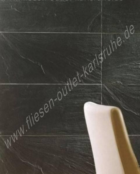 Colorker feinsteinzeug pizarra negro 29 5x59 5 cm - Fliesen outlet 24 ...