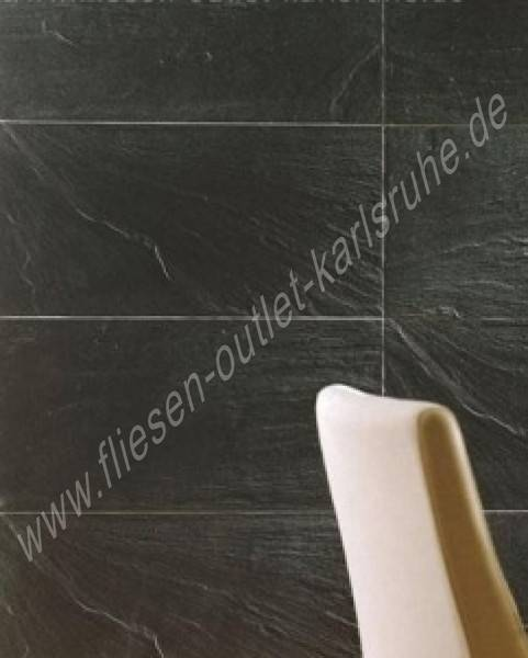 colorker feinsteinzeug pizarra negro 29 5x59 5 cm fliesen outlet. Black Bedroom Furniture Sets. Home Design Ideas